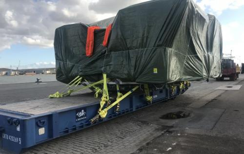 Europe Cargo Handle Shipment of Excavator to Fremantle