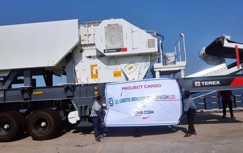 LCL Logistix Handle Towable Unit from India to Russia