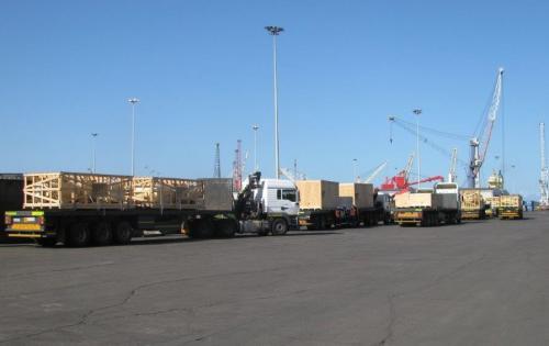 NATCO Complete Shipment of 346tn Transformer