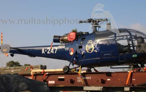 O&S Shipping & Nunner Logistics Handle 2 Helicopters