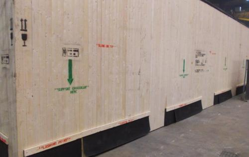 GRUBER Logistics Arranges Seaworthy Packaging & FOB Delivery