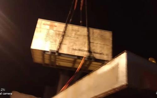 Uni-Home Handle Shipment of 2 Heavy Air Compressors