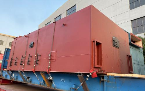 UF Logistics with Project Shipment of Thermal Oil Heater & Boiler