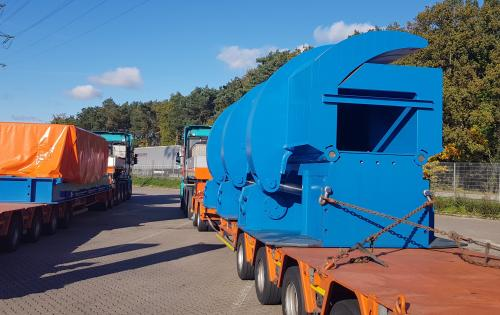 GRUBER Logistics Show their Expertise with Heavy Cargo
