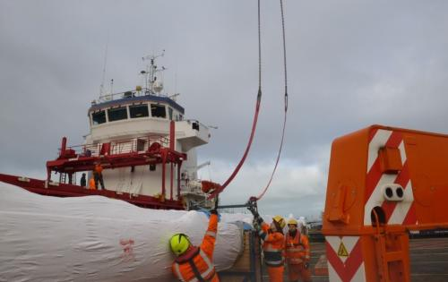 Europe Cargo Handles Transshipment of Yachting Equipment