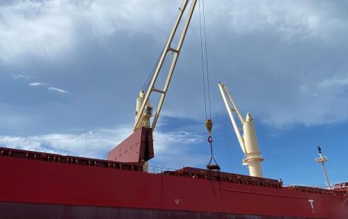 EZ Link Arranges Breakbulk Shipment of Steel Coils & Sheets