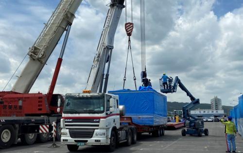 EZ Link Taiwan Handles Heavy Machinery via RORO to India