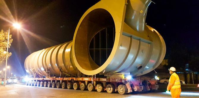 Turk Heavy Transport Handle Load for ALBA Power Station 5