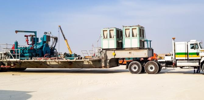 Successful Delivery of Oil Rig Equipment by Turk Heavy Transport