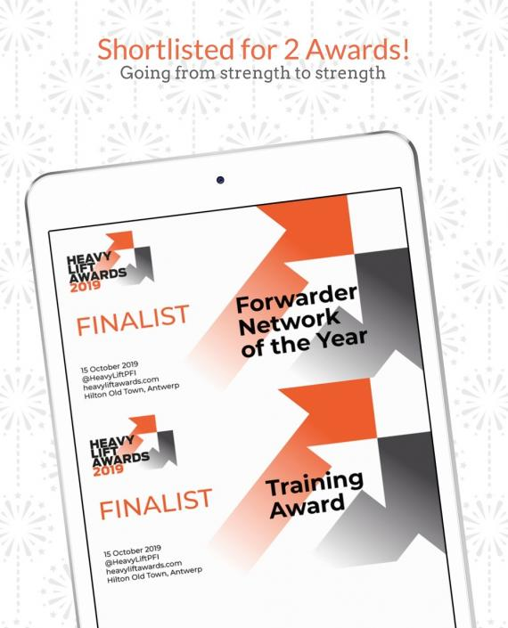 PCN has been shortlisted for 2 HLPFI Heavy Lift Awards!
