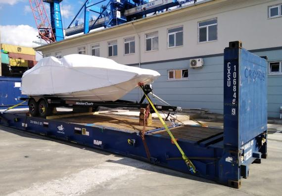 BATI Group with MasterCraft Boat Delivery to Bodrum