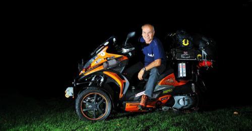 Fortune International Transport Sponsoring Worldwide Solo Motorbiking Tour