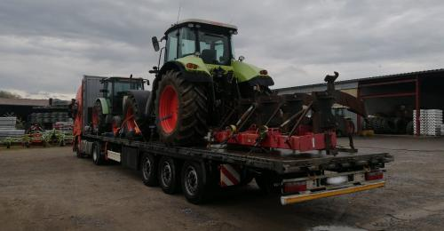 BATI Group Moves Tractors