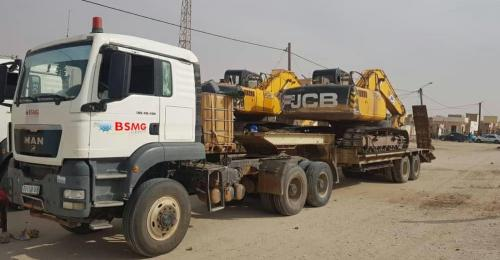 BSMG with Quick Delivery of Heavy Equipment
