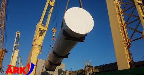 Ark Global Handle Shipping & Delivery of CO2 Storage Tanks