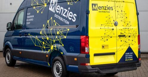 Menzies UK Expands Fleet with 100 New Volkswagen Crafter Vans
